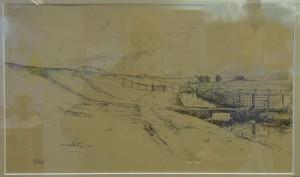 zeedijk bij Oudemirdum